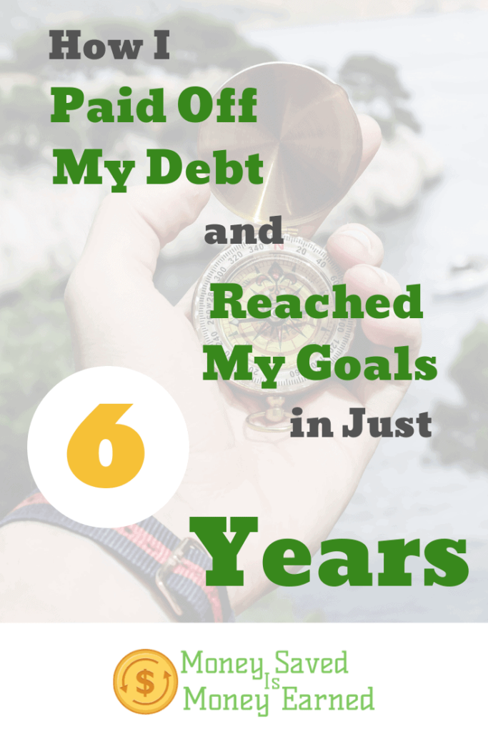 paid off debt and reached my goals
