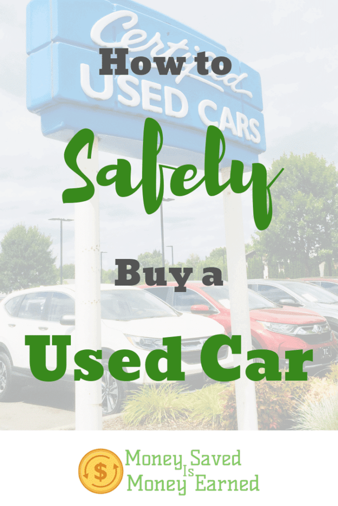how to safely buy a used car