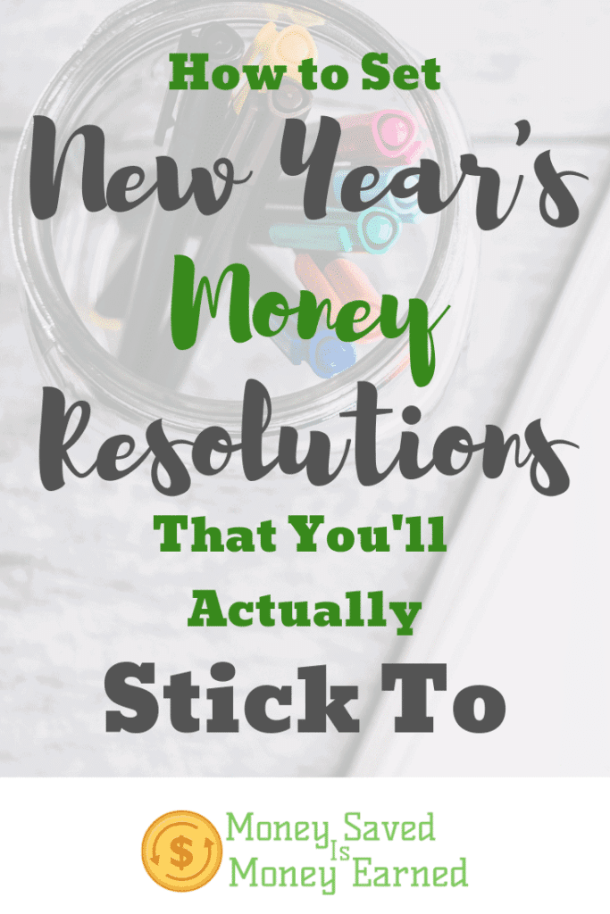 New Year's money resolutions that you'll actually stick to