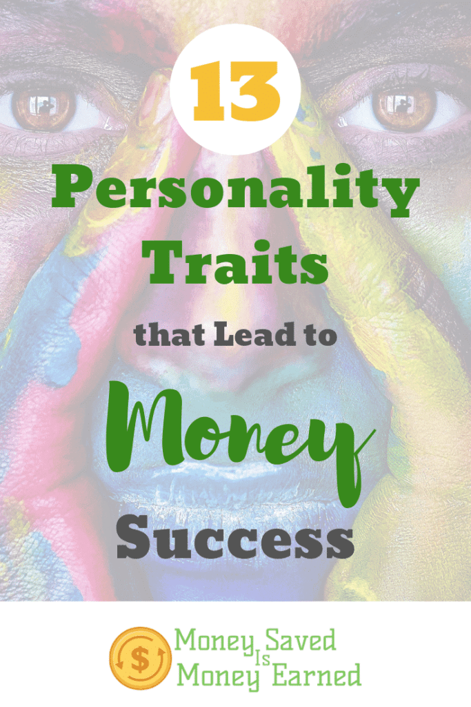 personality traits that lead to money success