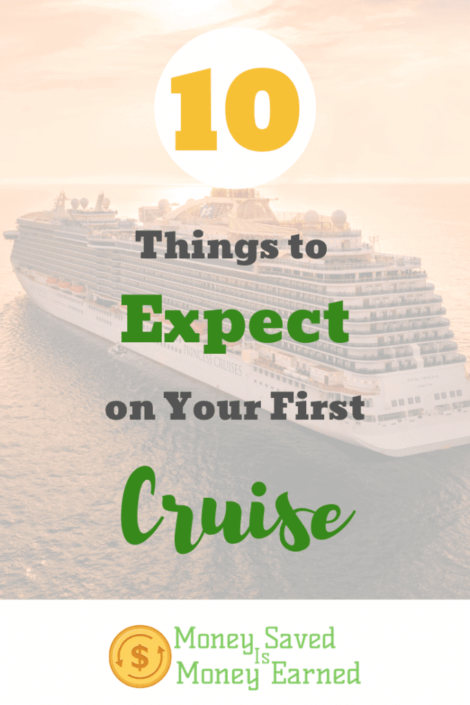 things to expect on your first cruise