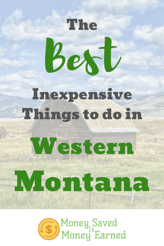 inexpensive things to do in western Montana