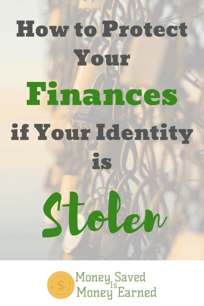 protect your finances if your identity is stolen