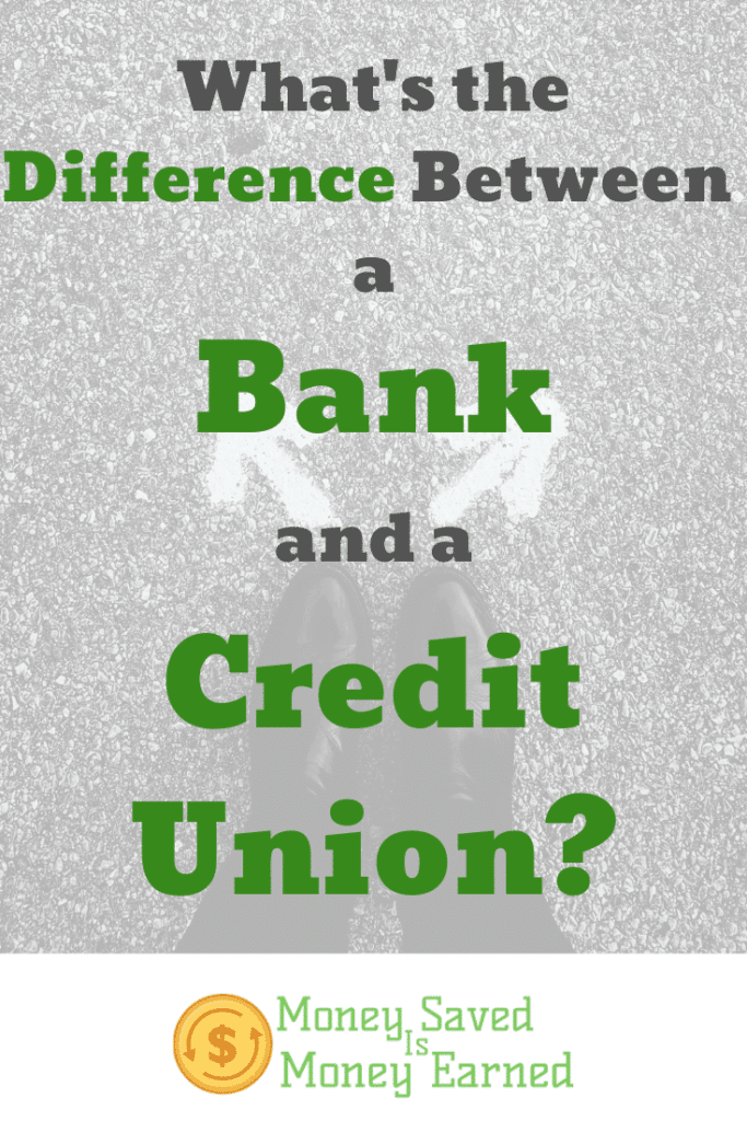 difference between a bank and a credit union