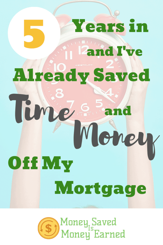 saved time and money off my mortgage