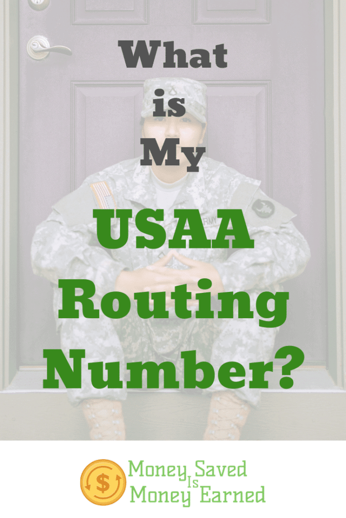 USAA routing number