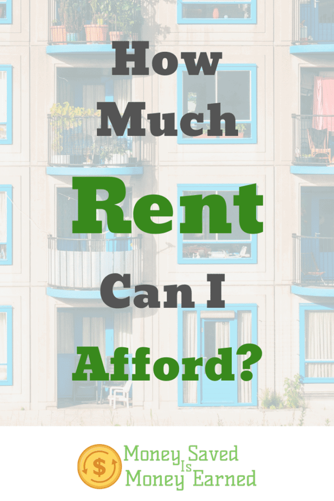 how much rent can I afford