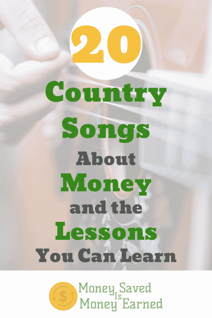 country songs about money