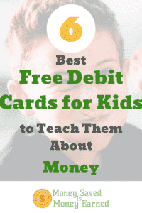 debit cards for kids