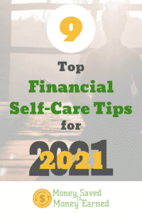 financial self-care